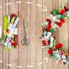 DIY Fabric Wreath | Easy Holiday Decor