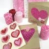 DIY Valentine's Day Fabric Cards