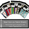 New! Iron-On Fabric Sheets