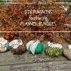 Pumpkins DIY in Flannel & Lace