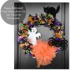 Halloween Fabric Wreath