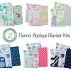 Land of Whimzie Applique Baby Blankets