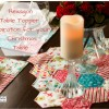 Hexagon Table Topper Free Project