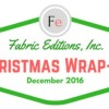 Christmas Projects Wrap-Up