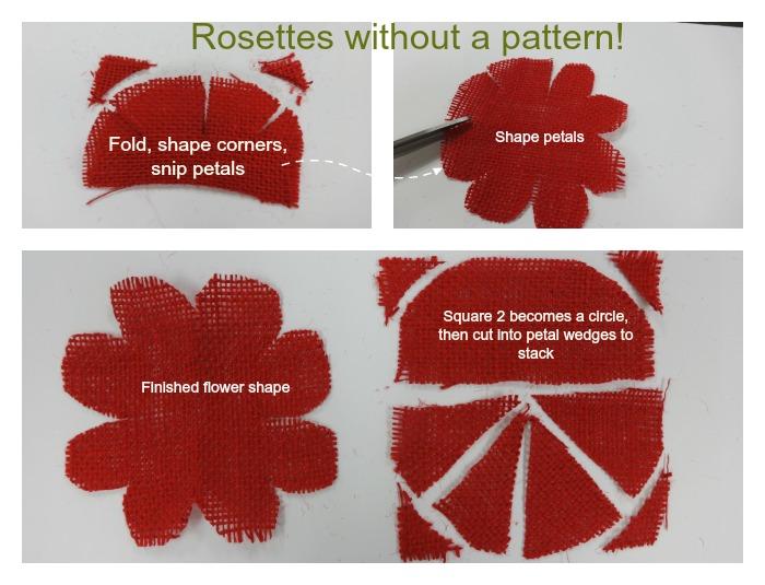 rosettes wO Pattern