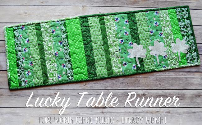 lucky table runner