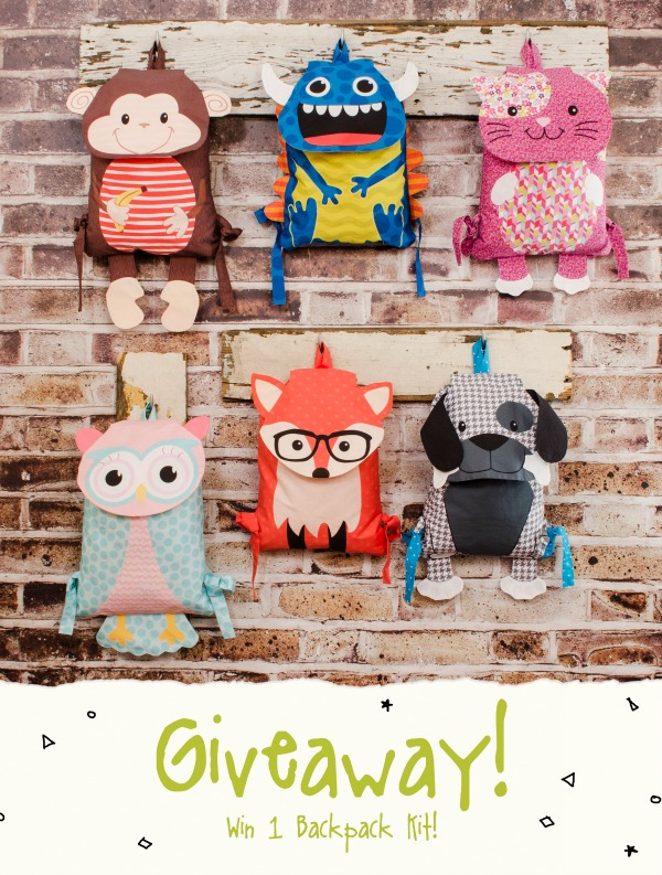 Backpack Panel Projects - Last Chance & Giveaway! - Fabric Editions Blog