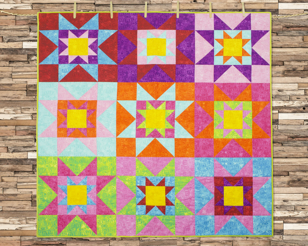 FREE Star Quilt Pattern & Giveaway - Fabric Editions Blog