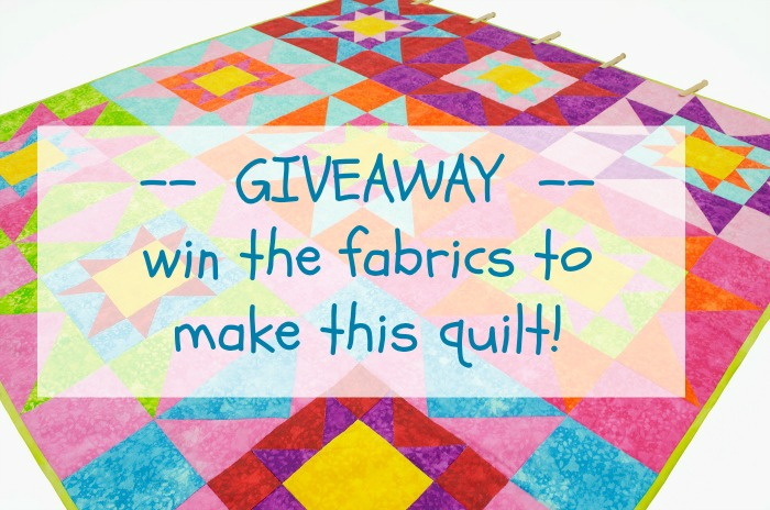 star quilt GiveawayB700