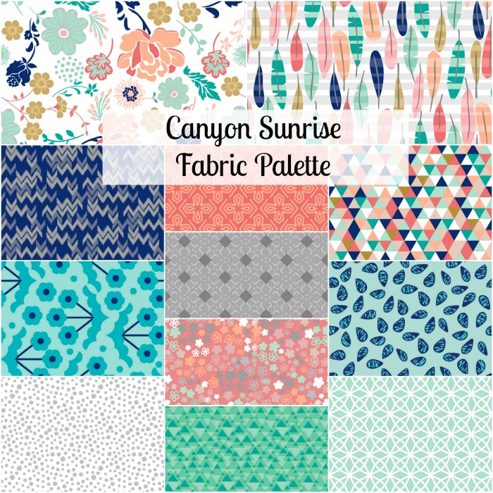 Canyon Sunrise Quilt Kits - Giveaway - Fabric Editions Blog