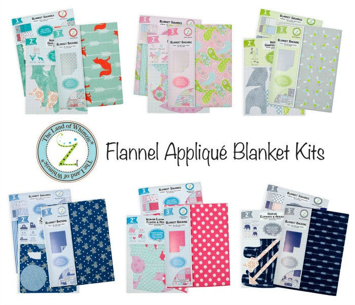 Land of Whimzie Applique Baby Blankets - Fabric Editions Blog