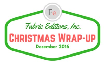 Christmas Projects Wrap Up Fabric Editions Blog