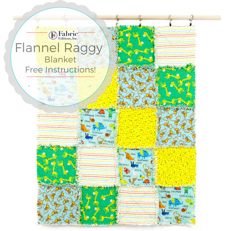 Flannel Blanket Free Pattern Fabric Editions Blog