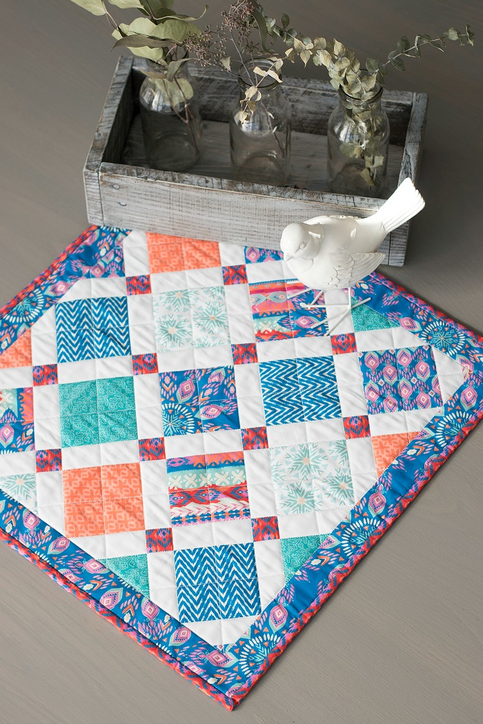 Quiltologie's Mini Mania - Fabric Editions Blog